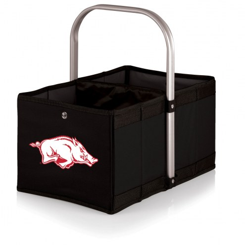 Arkansas Razorbacks Black Urban Picnic Basket