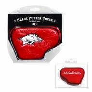 Arkansas Razorbacks Blade Putter Headcover