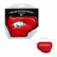 Arkansas Razorbacks Blade Putter Headcover