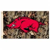 Arkansas Razorbacks Premium 3' x 5' Camo Flag
