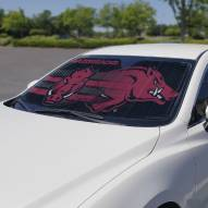 Arkansas Razorbacks Car Sun Shade