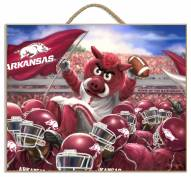 Arkansas Razorbacks Celebration Plaque