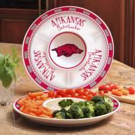 Arkansas Razorbacks Ceramic Chip and Dip Serving Dish