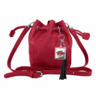 Arkansas Razorbacks Charming Mini Bucket Bag
