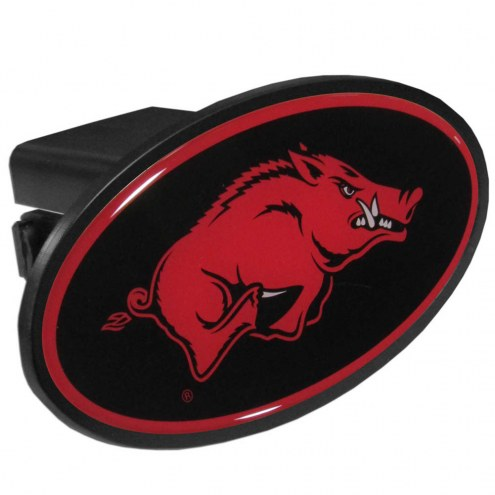 Arkansas Razorbacks Class III Plastic Hitch Cover