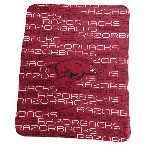 Arkansas Razorbacks Classic Fleece Blanket