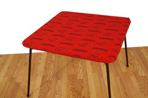 Arkansas Razorbacks Card Table Cover
