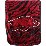 Arkansas Razorbacks Raschel Throw Blanket