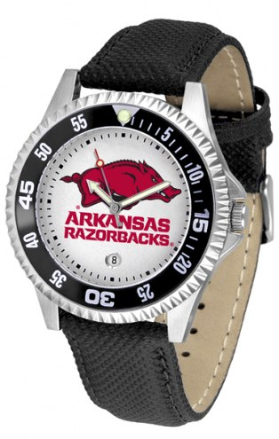 Arkansas Razorbacks Competitor Men's Watch