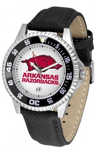Arkansas Razorbacks Competitor Men's Watch