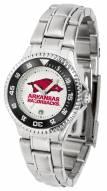 Arkansas Razorbacks Competitor Steel Women's Watch