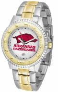 Arkansas Razorbacks Competitor Two-Tone Men's Watch