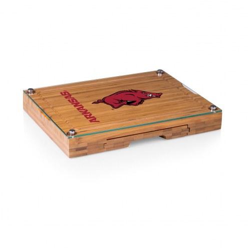 Arkansas Razorbacks Concerto Bamboo Cutting Board