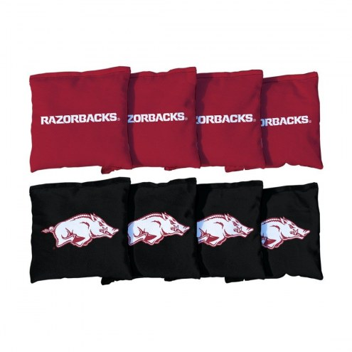 Arkansas Razorbacks Cornhole Bag Set