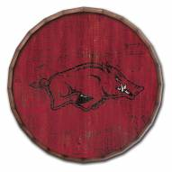 "Arkansas Razorbacks Cracked Color 16"" Barrel Top"