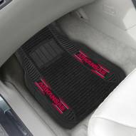 Arkansas Razorbacks Deluxe Car Floor Mat Set