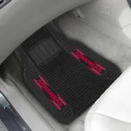 Arkansas Razorbacks Deluxe Car Floor Mat Set