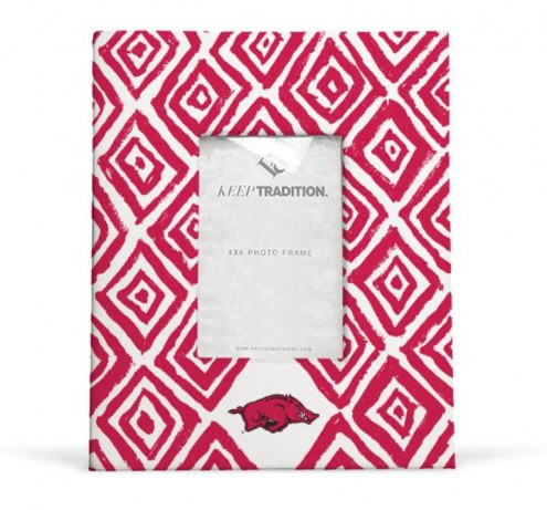 Arkansas Razorbacks Diamond Picture Frame