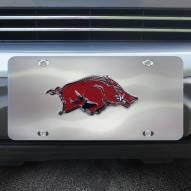 Arkansas Razorbacks Diecast License Plate