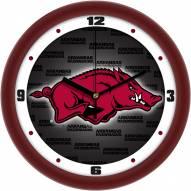 Arkansas Razorbacks Dimension Wall Clock