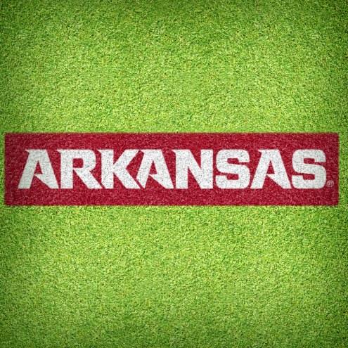 Arkansas Razorbacks DIY Lawn Stencil Kit