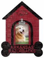 Arkansas Razorbacks Dog Bone House Clip Frame