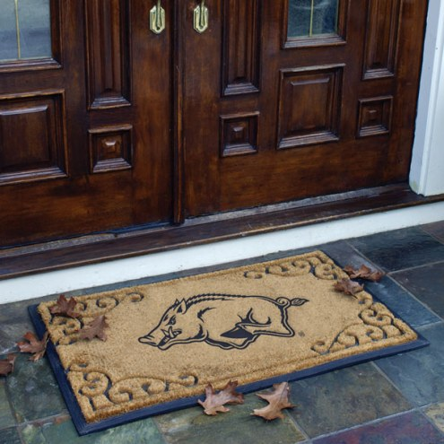 Arkansas Razorbacks Door Mat