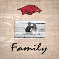 Arkansas Razorbacks Family Picture Frame