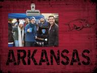 Arkansas Razorbacks Wood Clip Frame