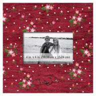 """Arkansas Razorbacks Floral 10"""" x 10"""" Picture Frame"""
