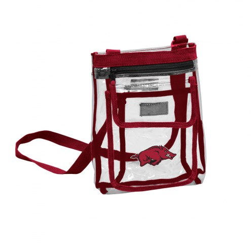 Arkansas Razorbacks Gameday Clear Crossbody Tote