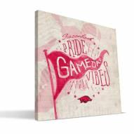 Arkansas Razorbacks Gameday Vibes Canvas Print