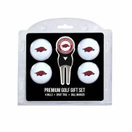 Arkansas Razorbacks Golf Ball Gift Set