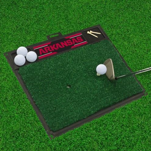 Arkansas Razorbacks Golf Hitting Mat
