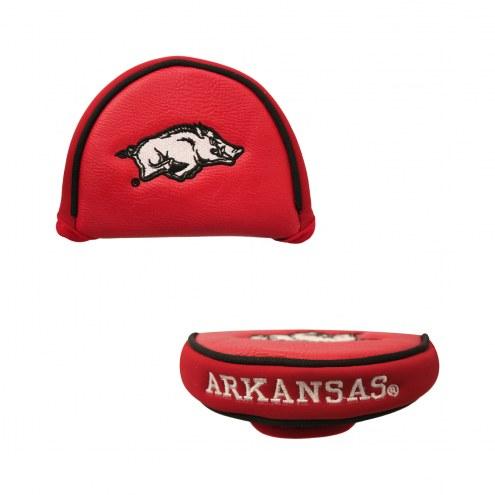 Arkansas Razorbacks Golf Mallet Putter Cover