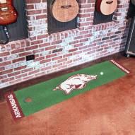 Arkansas Razorbacks Golf Putting Green Mat