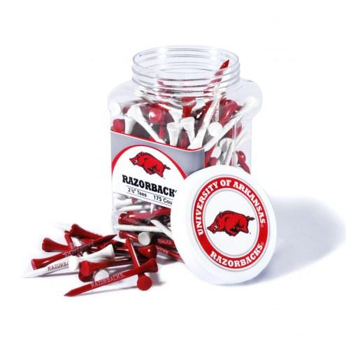 Arkansas Razorbacks 175 Golf Tee Jar