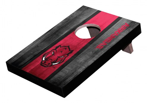 Arkansas Razorbacks Table Top Cornhole