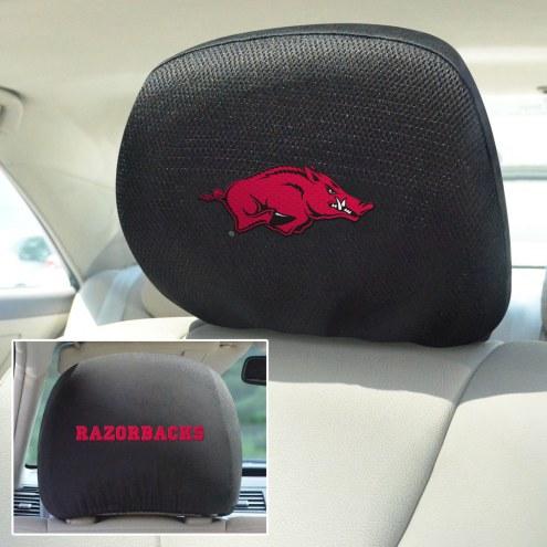 Arkansas Razorbacks Headrest Covers