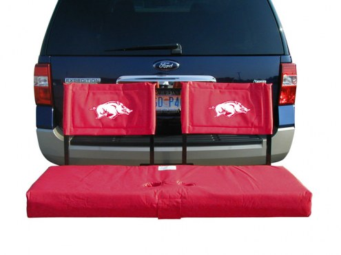 Arkansas Razorbacks Tailgate Hitch Seat/Cargo Carrier