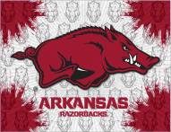 Arkansas Razorbacks Logo Canvas Print