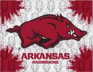 Arkansas Razorbacks Logo Canvas Print