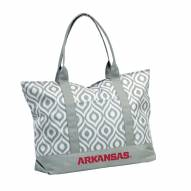 Arkansas Razorbacks Ikat Tote Bag