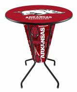 Arkansas Razorbacks Indoor Lighted Pub Table