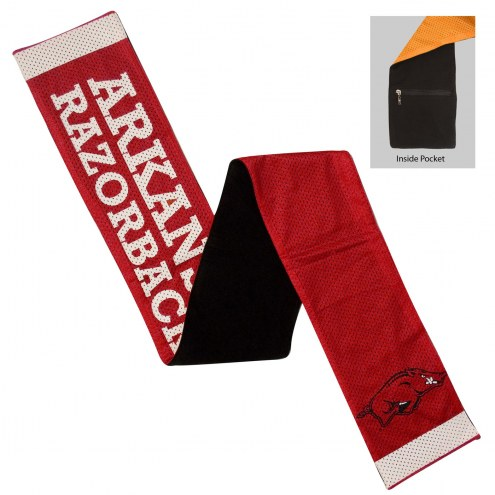 Arkansas Razorbacks Jersey Scarf