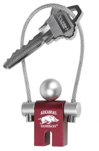 Arkansas Razorbacks Jumper Keychain