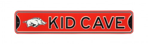 Arkansas Razorbacks Kid Cave Street Sign