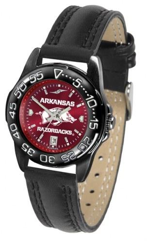 Arkansas Razorbacks Ladies Fantom Bandit AnoChrome Watch