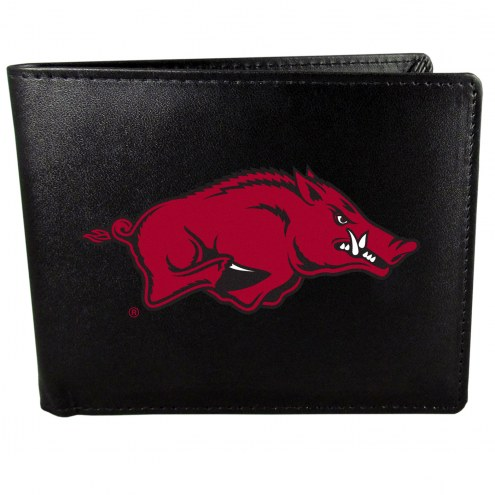 Arkansas Razorbacks Large Logo Bi-fold Wallet