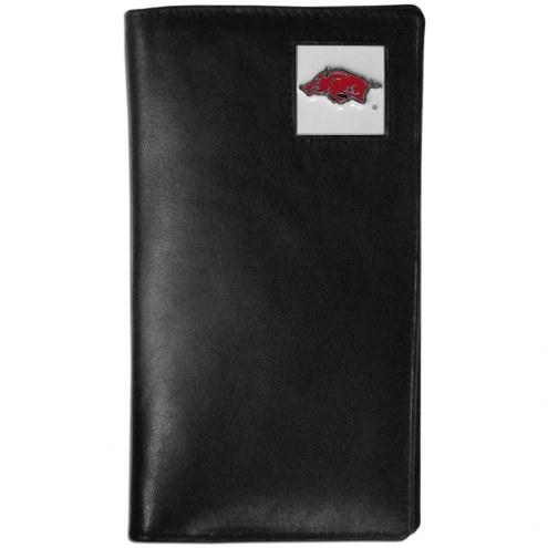 Arkansas Razorbacks Leather Tall Wallet